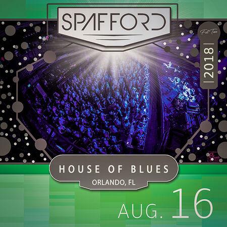 08/16/18 House of Blues, Orlando, FL