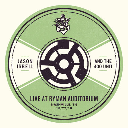 10/22/18 Ryman Auditorium, Nashville, TN