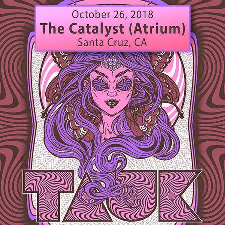 10/26/18 The Catalyst (Atrium), Santa Cruz, CA