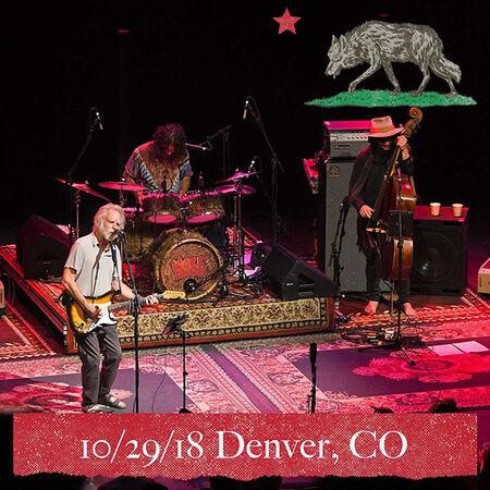10/29/18 Paramount Theatre, Denver, CO