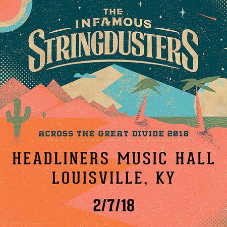 02/07/18 Headliners Music Hall, Louisville, KY