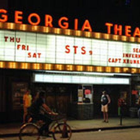 03/19/09 The Georgia Theater, Athens, GA