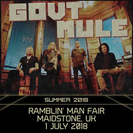 07/01/18 Ramblin' Man Fair, Maidstone, UK
