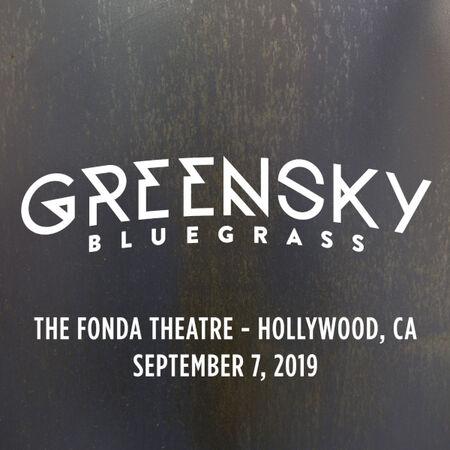 09/07/19 The Fonda Theatre, Hollywood, CA