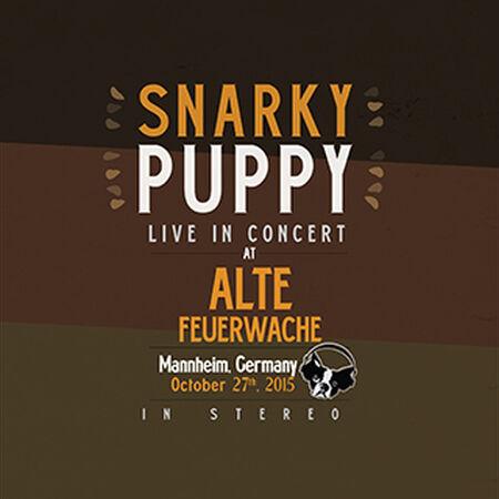 10/27/15 Alte Feuerwache, Mannheim, DE