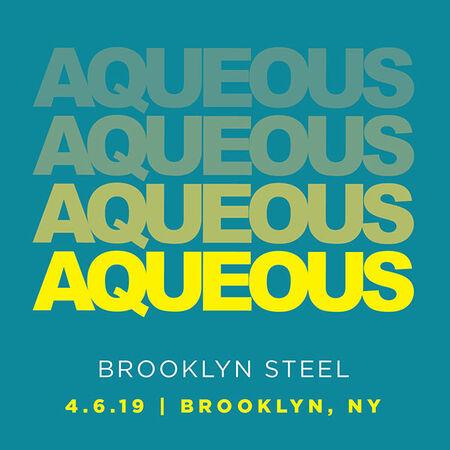 04/06/19 Brooklyn Steel, Brooklyn, NY