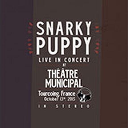 10/13/15 Theatre Municipal, Tourcoing, FR