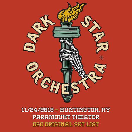 11/24/18 Paramount Theater, Huntington, NY