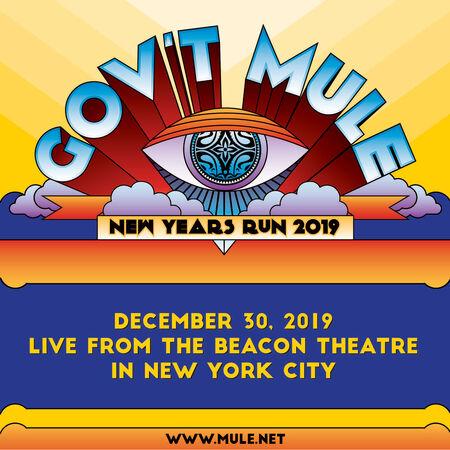 12/30/19 The Beacon Theatre, New York, NY