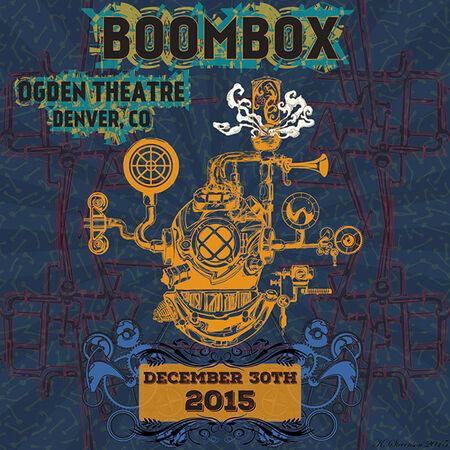 12/30/15 Ogden Theatre, Denver, CO