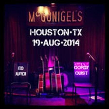 08/19/14 McGonigel's Mucky Duck, Houston, TX