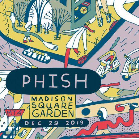 12/29/19 Madison Square Garden, New York, NY
