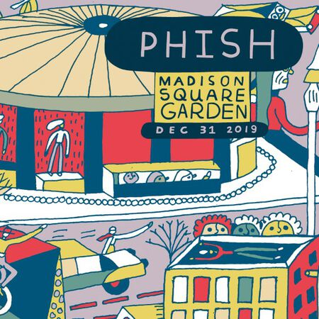 12/31/19 Madison Square Garden, New York, NY