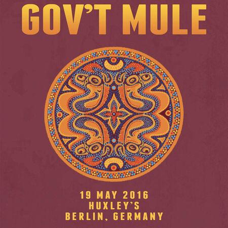 05/19/16 Huxley's, Berlin, DEU