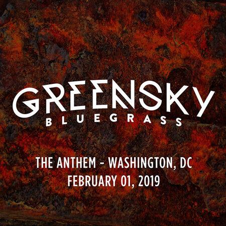 02/01/19 The Anthem, Washington, DC