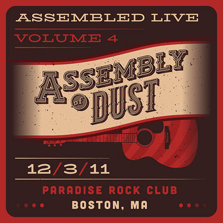 12/03/11 Paradise Rock Club, Boston, MA