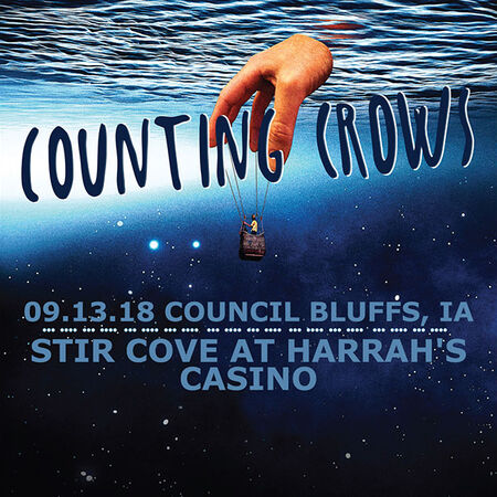 09/13/18 Stir Cove at Harrah's Casino, Council Bluffs, IA