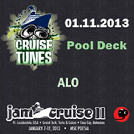 01/11/13 Pool Deck, Jam Cruise, US