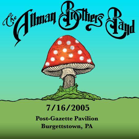 07/16/05 Post-Gazette Pavilion, Burgettstown, PA