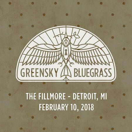 02/10/18 The Fillmore, Detroit, MI