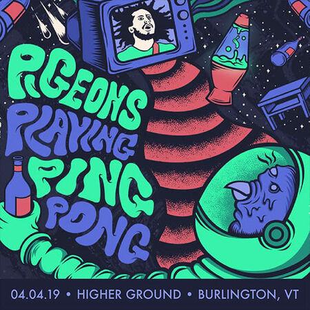 04/04/19 Higher Ground, Burlington, VT