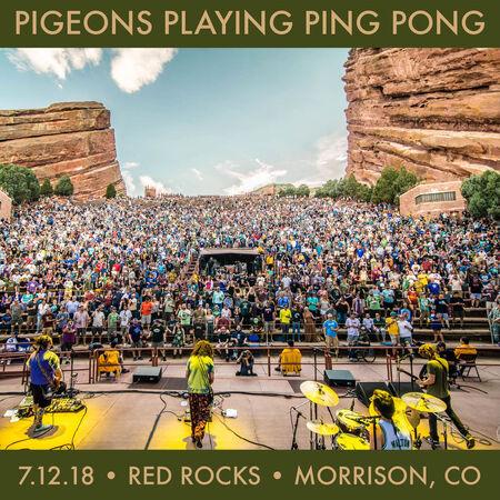 07/12/18 Red Rocks Amphitheater, Morrison, CO