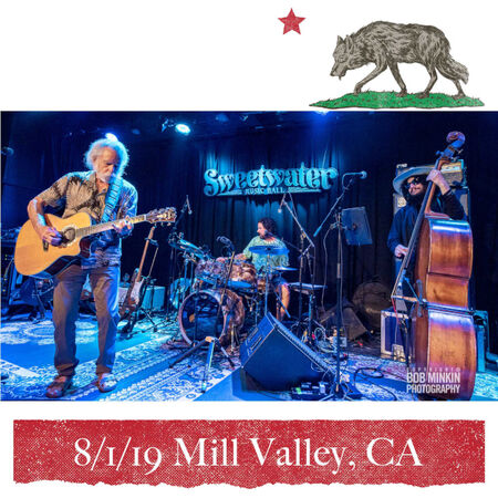 08/01/19 Sweetwater Music Hall, Mill Valley, CA