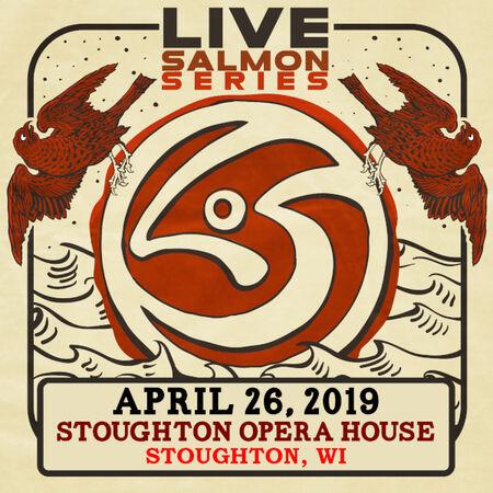 04/26/19 Stoughton Opera House, Stoughton, WI