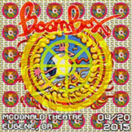 04/20/15 McDonald Theatre, Eugene, OR