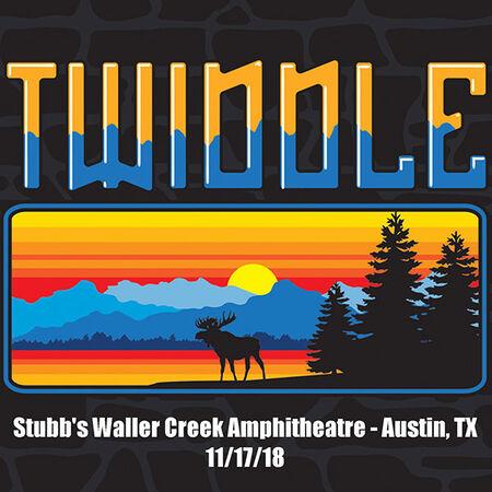 11/17/18 Stubb's Waller Creek Amphitheater, Austin, TX
