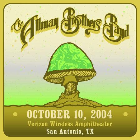 10/10/04 Verizon Wireless Amphitheater, San Antonio , TX