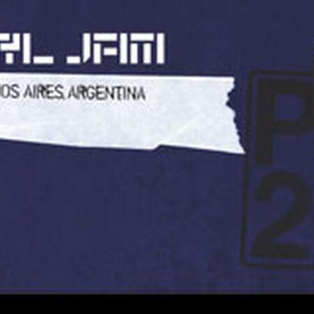 11/13/11 Estadio Unico La Plata, Buenos Aires, AR