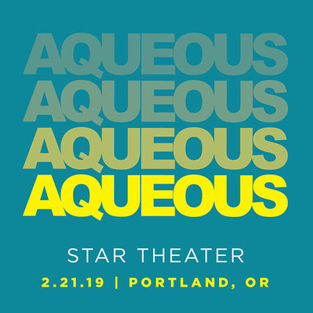 02/21/19 Star Theater, Portland, OR