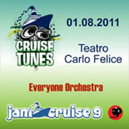 01/08/11 Teatro Carlo Felice, Jam Cruise, US