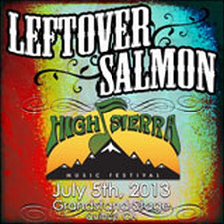07/05/13 High Sierra Music Festival, Quincy, CA
