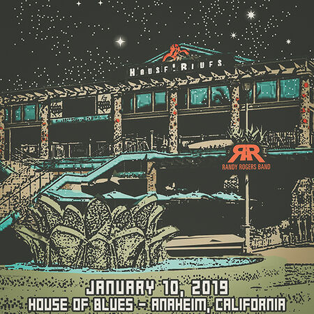 01/10/19 House Of Blues, Anaheim, CA