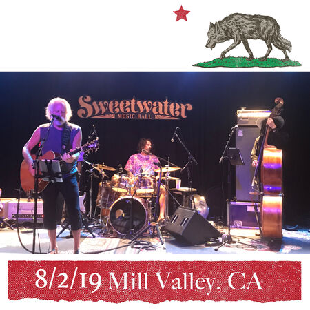 08/02/19 Sweetwater Music Hall, Mill Valley, CA
