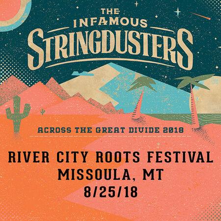 08/25/18 River City Roots Festival, Missoula, MT