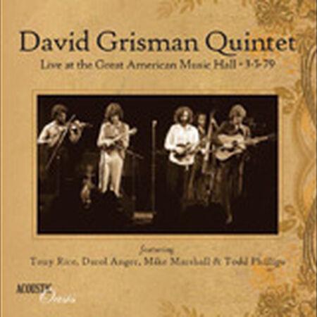 David Grisman Quintet 1979