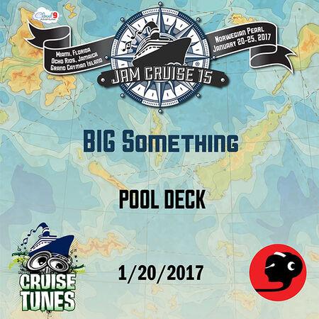 01/20/17 Pool Deck, Jam Cruise, US