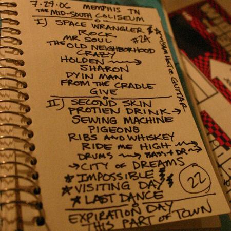 07/29/06 Mid South Coliseum, Memphis, TN