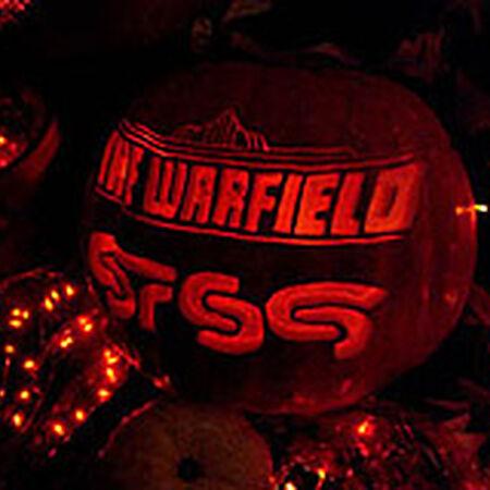10/31/06 The Warfield, San Francisco, CA