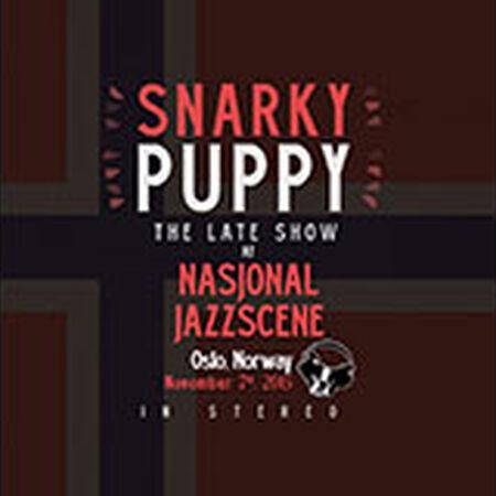 11/07/15 Nasjonal Jazz Scene, Late - Oslo, NO
