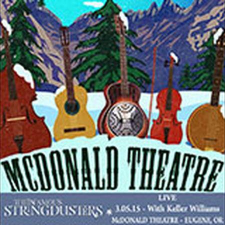 03/05/15 McDonald Theatre, Eugene, OR