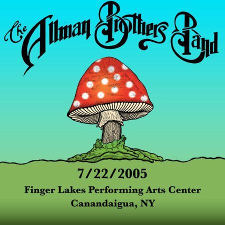 07/22/05 Finger Lakes Performing Arts Center, Canandaigua, NY