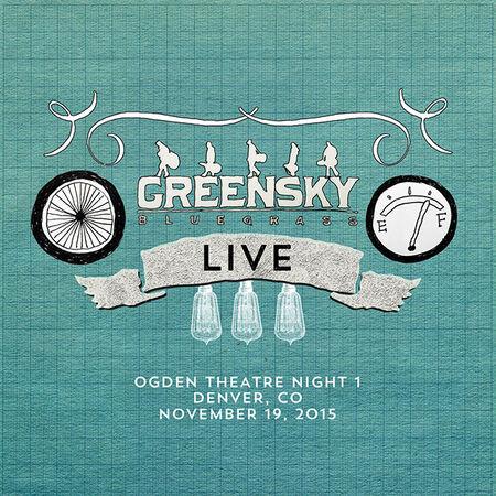 11/19/15 The Ogden Theater, Denver, CO
