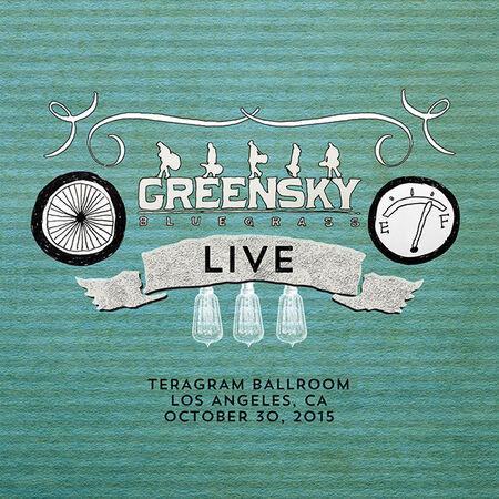 10/30/15 Teragram Ballroom, Los Angeles, CA
