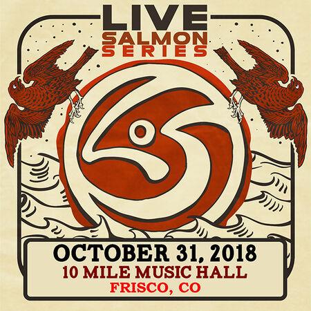 10/31/18 10 Mile Music Hall, Frisco, CO