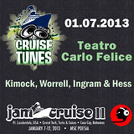 01/07/13 Teatro Carlo Felice, Jam Cruise, US