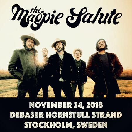 11/24/18 Debaser Strand, Stockholm, SE